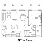 1 Bedroom 1 Bath 804 sq ft $ Call For Pricing