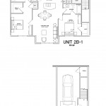 2 Bedroom 2 Bath w/garage 1115 sq ft $ Call For Pricing