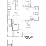 2 Bedroom 2 Bath 1096 sq ft $ Call For Pricing