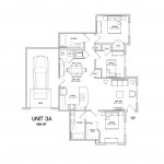 3 Bedroom 2 Bath w/garage 1094 sq ft $ Call For Pricing