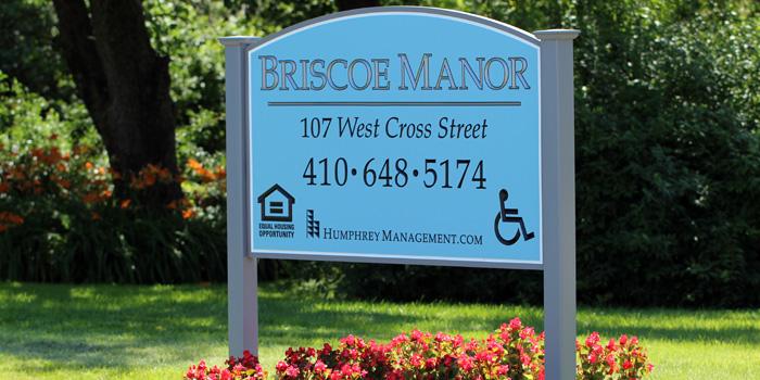 Briscoe-sign