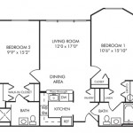 2 Bedroom | 2 Bath 886 sq ft $1,499-$1,624