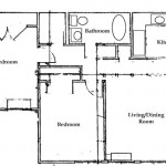Two Bedroom | One Bathroom 668 sq. ft. $ Call For Pricing