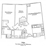 2 Bedroom 1012 Sq Ft $ Call For Pricing