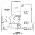 2 Bedroom 1047 Sq Ft $ Call For Pricing