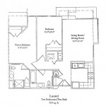 2 Bedroom 924 Sq Ft $ Call For Pricing