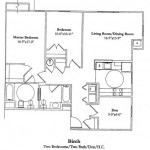 2 Bedroom w/Den 1136 Sq Ft $ Call For Pricing