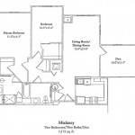 2 Bedroom w/Den 1172 Sq Ft $ Call For Pricing