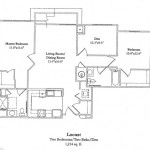 2 Bedroom w/Den 1214 Sq Ft $ Call For Pricing