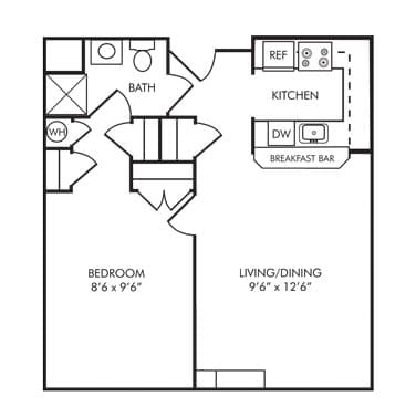 Senior apartment community in carroll county md village for 600 square foot apartment plans
