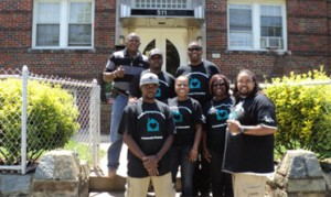 Largo Center team at Covenant House in D.C.